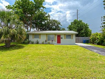 Oakland Park Single Family Home For Sale: 4901 NE 13th Ave