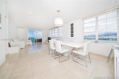 Miami Beach Condo For Sale: 1000 West Ave #625