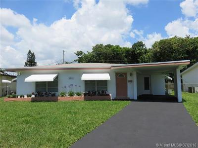 Oakland Park Single Family Home For Sale: 3933 NW 19th Ave