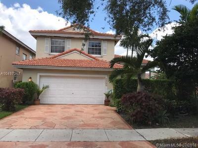 Miramar Single Family Home For Sale: 15281 SW 51st St