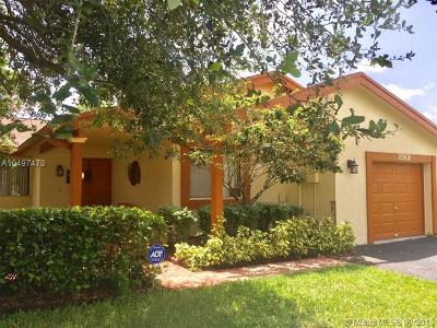 Plantation Single Family Home For Sale: 8901 NW 9th Pl