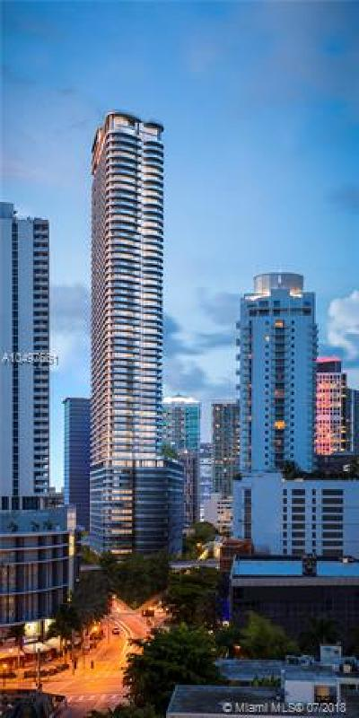 Brickell Flatiron Condo For Sale: 1001 S Miami Ave #5607
