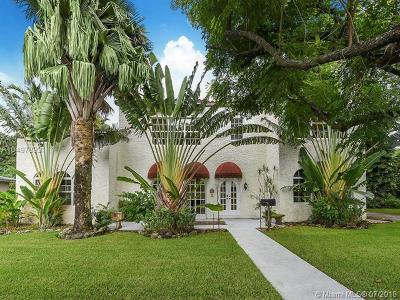Coral Gables Single Family Home For Sale: 900 El Rado Street