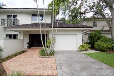 Coral Gables Single Family Home For Sale: 4840 Campo Sano Ct