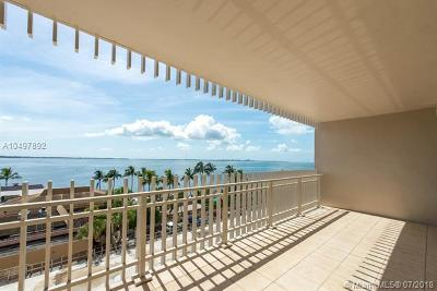 Coconut Grove Condo For Sale: 3 Grove Isle Dr #C605