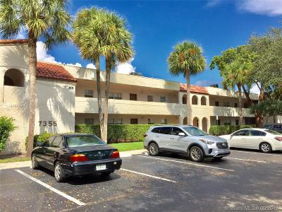Tamarac Condo For Sale: 7355 Woodmont Ter #207