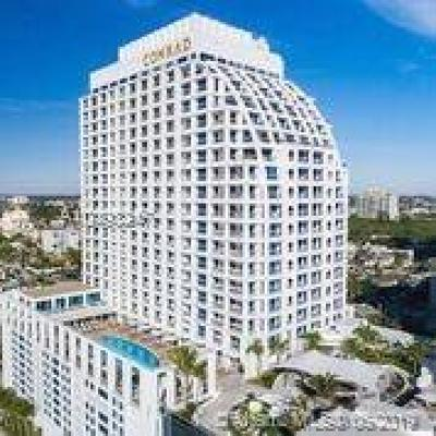 Fort Lauderdale Condo For Sale: 551 N Fort Lauderdale Beach Boulevard #H1704
