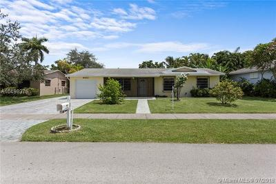 Palmetto Bay Single Family Home For Sale: 8923 SW 178th Ter