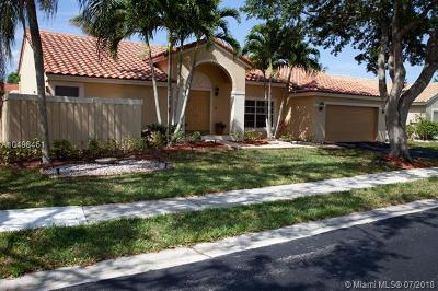 Sunrise Single Family Home For Sale: 13201 NW 11th Dr