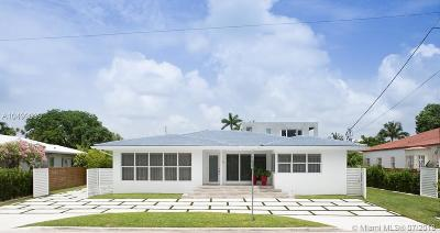 Surfside Single Family Home For Sale: 9540 Byron Ave
