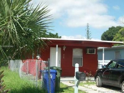 Fort Lauderdale Single Family Home For Sale: 639 NW 14th Ter
