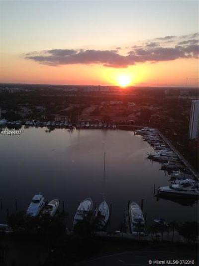 Aventura Condo For Sale: 21055 Yacht Club Dr #2105