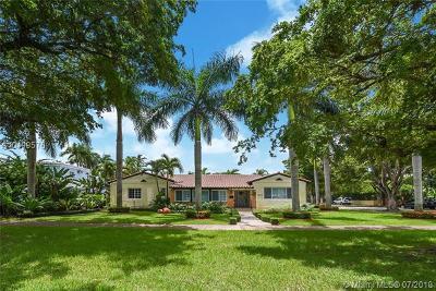 Coral Gables Single Family Home For Sale: 1604 Granada Blvd