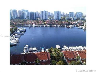 Aventura Condo For Sale: 3640 Yacht Club #PH07