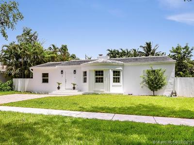 Miami Shores Single Family Home For Sale: 17 NE 105th St