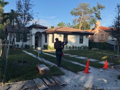 Miami Single Family Home For Sale: 2023 SW 14th Ter