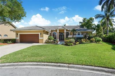 Coral Springs Single Family Home For Sale: 12661 Magnolia Ct