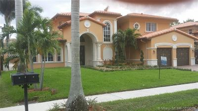 Miami Lakes Single Family Home Active With Contract: 7940 NW 156th Ter
