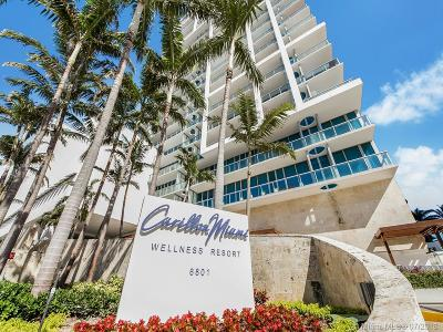 Miami Beach Condo For Sale: 6801 Collins Ave #1109