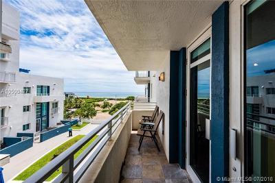 Miami Beach Condo For Sale: 7600 Collins Ave #609