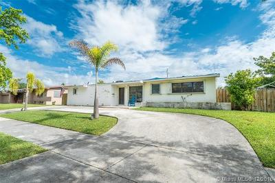 Cutler Bay Single Family Home For Sale: 8721 SW 191 St