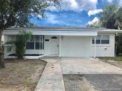 Fort Lauderdale Single Family Home For Sale: 1620 NW 9th Ave
