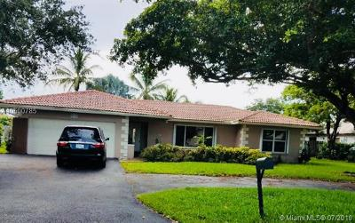 Coral Springs Single Family Home For Sale: 2737 NW 116th Ter