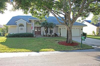 Coral Springs Single Family Home For Sale: 4322 NW 62nd Ave