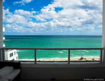 Miami Beach Condo For Sale: 5005 E Collins Ave #1512