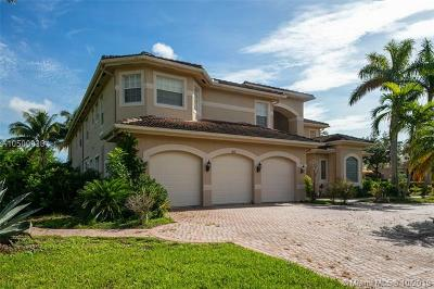 Davie Single Family Home For Sale: 11375 Canyon Maple Blvd