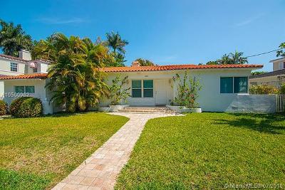 Miami Beach Single Family Home For Sale: 4515 Alton Rd