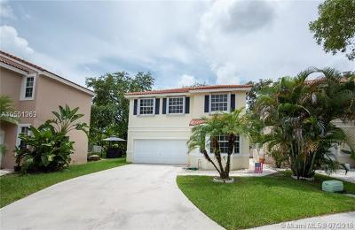 Davie Single Family Home Active With Contract: 15302 SW 51st Mnr