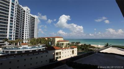 Miami Beach Condo For Sale: 5875 Collins Ave #603