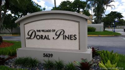 Doral Single Family Home Active With Contract: 5722 NW 101st Ct