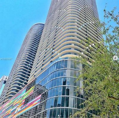 Miami Condo For Sale: 55 SW 9th St #3205