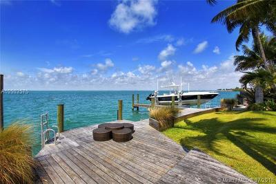 Key Biscayne FL Single Family Home For Sale: $10,800,000