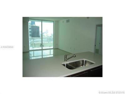 Miami Single Family Home For Sale: 1900 N Bayshore Dr. 1609