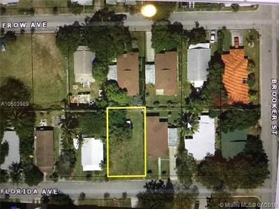 Coral Gables Residential Lots & Land For Sale: 113-115 Florida Ave