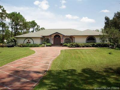 Jupiter Single Family Home For Sale: 11105 157th Pl N