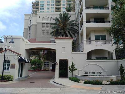 Fort Lauderdale Condo For Sale: 610 W Las Olas Blvd #1011N