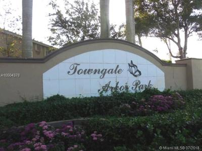 Homestead Condo For Sale: 2449 SE 19th St #2449