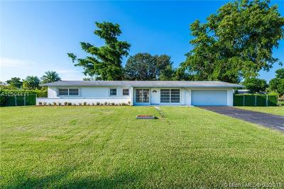 Palmetto Bay Single Family Home For Sale: 9320 SW 177th St
