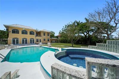 Miami Beach Single Family Home For Sale: 2637 Flamingo Dr