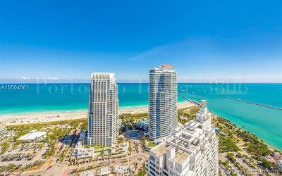 Miami Beach Condo For Sale: 300 S Pointe #3806