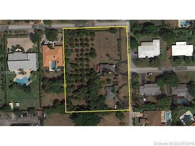Residential Lots & Land For Sale: 9260 SW 84th Ave