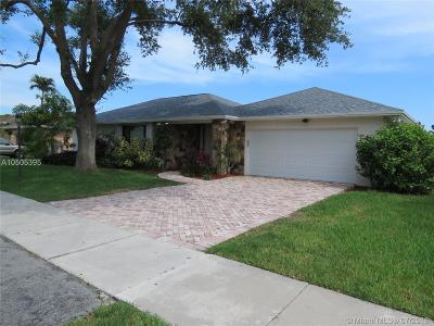 Single Family Home For Sale: 11600 SW 99th St