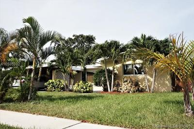 Fort Lauderdale Single Family Home For Sale: 1650 SW 27th Ave