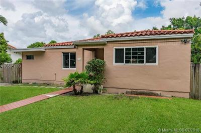 Miami Springs Single Family Home For Sale