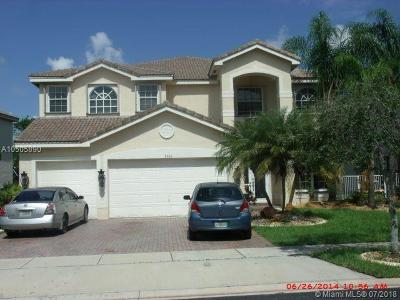 Miramar Single Family Home For Sale: 2066 SW 153rd Way