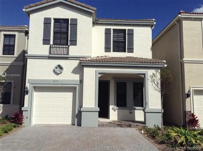 Miami Single Family Home For Sale: 635 NE 193rd St
